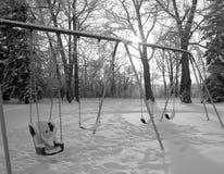 Χειμερινή ταλάντευση Στοκ φωτογραφία με δικαίωμα ελεύθερης χρήσης
