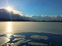 Χειμερινή χώρα των θαυμάτων Στοκ Εικόνες