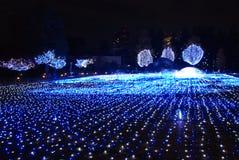 Χειμερινοί φωτισμοί στο Τόκιο στοκ φωτογραφία