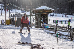 Χειμερινός αθλητισμός στοκ εικόνα με δικαίωμα ελεύθερης χρήσης
