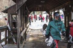 Χειμερινός αθλητισμός στοκ φωτογραφία