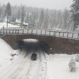 Χειμερινός γύρος Στοκ Εικόνες