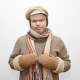 Χειμερινός ιματισμός ατόμων στοκ εικόνα