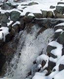 Χειμερινός καταρράκτης Στοκ εικόνα με δικαίωμα ελεύθερης χρήσης