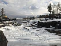Χειμερινός καταρράκτης Στοκ Φωτογραφίες