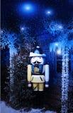 Χειμερινός ξύλινος στρατιώτης Στοκ εικόνες με δικαίωμα ελεύθερης χρήσης
