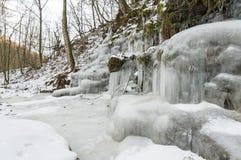 Χειμερινός πάγος Στοκ Εικόνα
