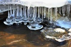 Χειμερινός παγετός Στοκ εικόνα με δικαίωμα ελεύθερης χρήσης