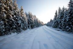 Χειμερινός δρόμος Στοκ Φωτογραφία