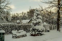 Χειμερινό έδαφος Ισλανδία Στοκ εικόνα με δικαίωμα ελεύθερης χρήσης