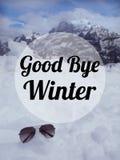 Χειμερινό απόσπασμα στοκ εικόνες με δικαίωμα ελεύθερης χρήσης