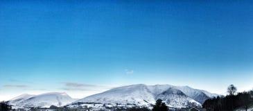 Χειμερινό βουνό περιοχής λιμνών Στοκ φωτογραφίες με δικαίωμα ελεύθερης χρήσης