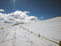 Χειμερινό βουνό Στοκ εικόνα με δικαίωμα ελεύθερης χρήσης