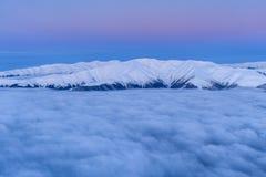 Χειμερινό βουνό Στοκ φωτογραφία με δικαίωμα ελεύθερης χρήσης