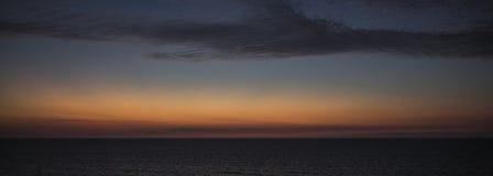 Χειμερινό ηλιοβασίλεμα σε Apollonia Στοκ φωτογραφία με δικαίωμα ελεύθερης χρήσης