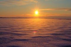 Βόρεια Θάλασσα Στοκ Φωτογραφία