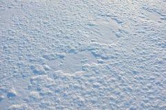 Χειμερινό κρύο χιόνι Στοκ Εικόνα