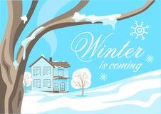 Χειμερινό μπλε υπόβαθρο Τοπίο χειμώνας έκδοσης απεικόνισης 0 8 διαθέσιμος eps ελεύθερη απεικόνιση δικαιώματος