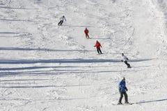 Χειμερινό να κάνει σκι στοκ εικόνες με δικαίωμα ελεύθερης χρήσης