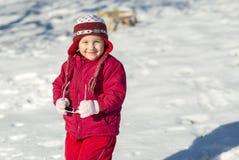Χειμερινό παιδί Στοκ φωτογραφίες με δικαίωμα ελεύθερης χρήσης