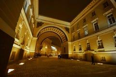 Χειμερινό παλάτι το χειμώνα Στοκ φωτογραφίες με δικαίωμα ελεύθερης χρήσης