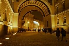 Χειμερινό παλάτι το χειμώνα Στοκ φωτογραφία με δικαίωμα ελεύθερης χρήσης