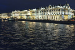 Χειμερινό παλάτι Στοκ Εικόνες