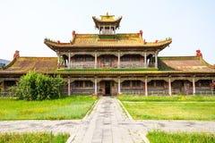 Χειμερινό παλάτι Khan Bogd στοκ εικόνες με δικαίωμα ελεύθερης χρήσης