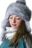Χειμερινό πορτρέτο Στοκ εικόνες με δικαίωμα ελεύθερης χρήσης