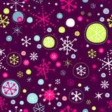 Χειμερινό πρότυπο Στοκ Εικόνες