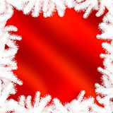 Χειμερινό πλαίσιο - αφηρημένο υπόβαθρο Χριστουγέννων Στοκ εικόνα με δικαίωμα ελεύθερης χρήσης
