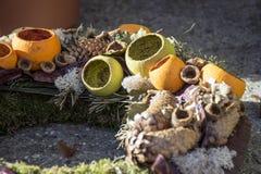 Χειμερινό στεφάνι Στοκ φωτογραφία με δικαίωμα ελεύθερης χρήσης