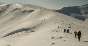 Χειμερινό ταξίδι Στοκ Εικόνες