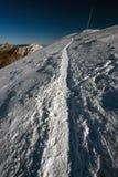 Χειμερινό τοπίο στα βουνά Mala Fatra Στοκ Εικόνες