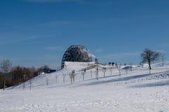 Χειμερινό τοπίο στο winterberg, Γερμανία Στοκ Εικόνες