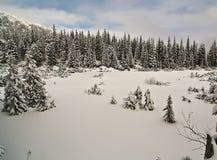 Χειμερινό τοπίο στοκ φωτογραφίες με δικαίωμα ελεύθερης χρήσης