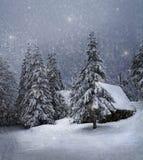 Χειμερινό τοπίο Στοκ εικόνα με δικαίωμα ελεύθερης χρήσης