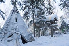 Χειμερινό τοπίο. Στοκ Φωτογραφία