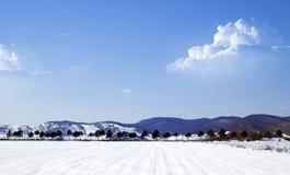 Χειμερινό τοπίο στοκ φωτογραφία