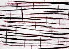 Χειμερινό τοπίο Astbractal Το συναίσθημα snowdrifts ή των κυμάτων οι συρμένες γραμμές είναι κοντές και μακριές κάθετες στοκ εικόνα με δικαίωμα ελεύθερης χρήσης