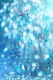 Χειμερινό υπόβαθρο Στοκ Εικόνες