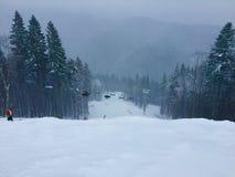 Χειμερινό χιόνι Στοκ εικόνα με δικαίωμα ελεύθερης χρήσης