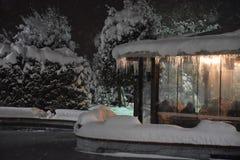 Χειμερινό χιόνι Στοκ Εικόνες