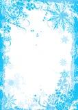 Χειμερινό floral πλαίσιο, διάνυσμα Στοκ εικόνες με δικαίωμα ελεύθερης χρήσης