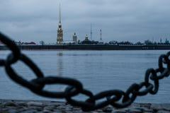 Χειμερινό sankt-Peterburg τοπίο στοκ εικόνες