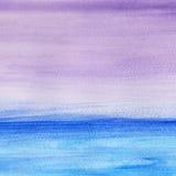 Χειμερινό seascape ελεύθερη απεικόνιση δικαιώματος