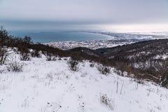 Χειμερινό seascape Στοκ Εικόνες