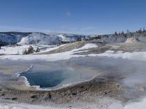χειμερινό yellowstone Στοκ Εικόνες