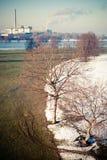 χειμώνας άνοιξης Στοκ εικόνα με δικαίωμα ελεύθερης χρήσης
