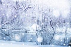 χειμώνας ανασκόπησης Στοκ εικόνα με δικαίωμα ελεύθερης χρήσης
